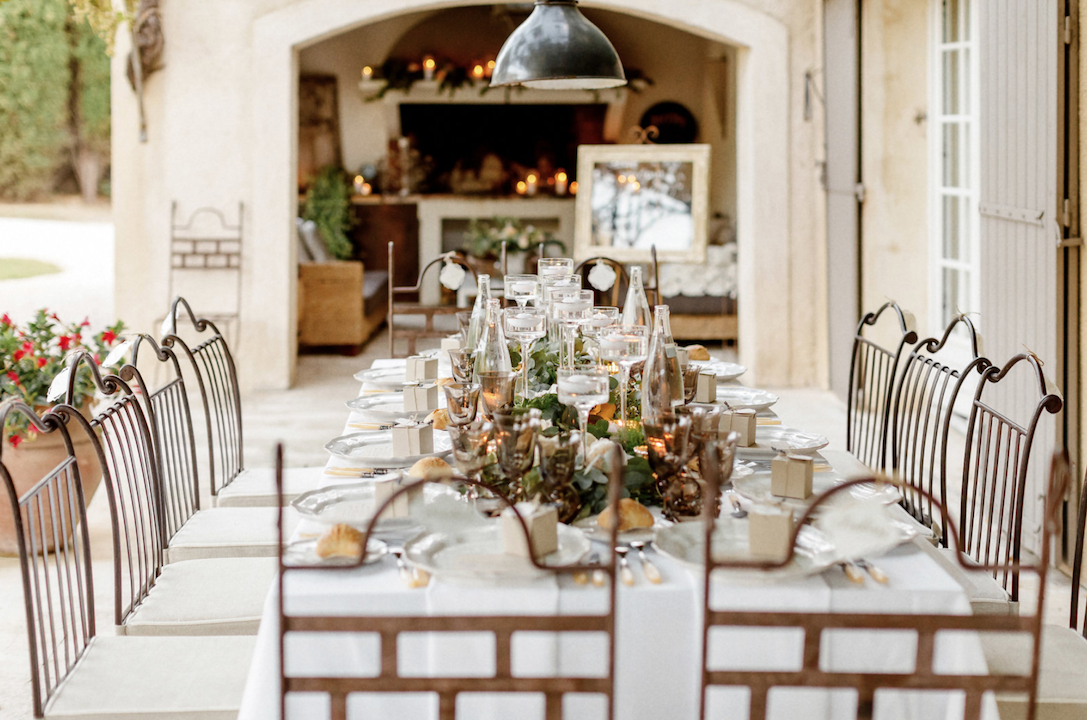destination wedding in provence (decor 2) by Muriel