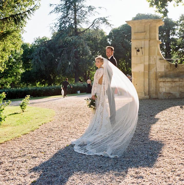 Harpers Bazaar Wedding chateau