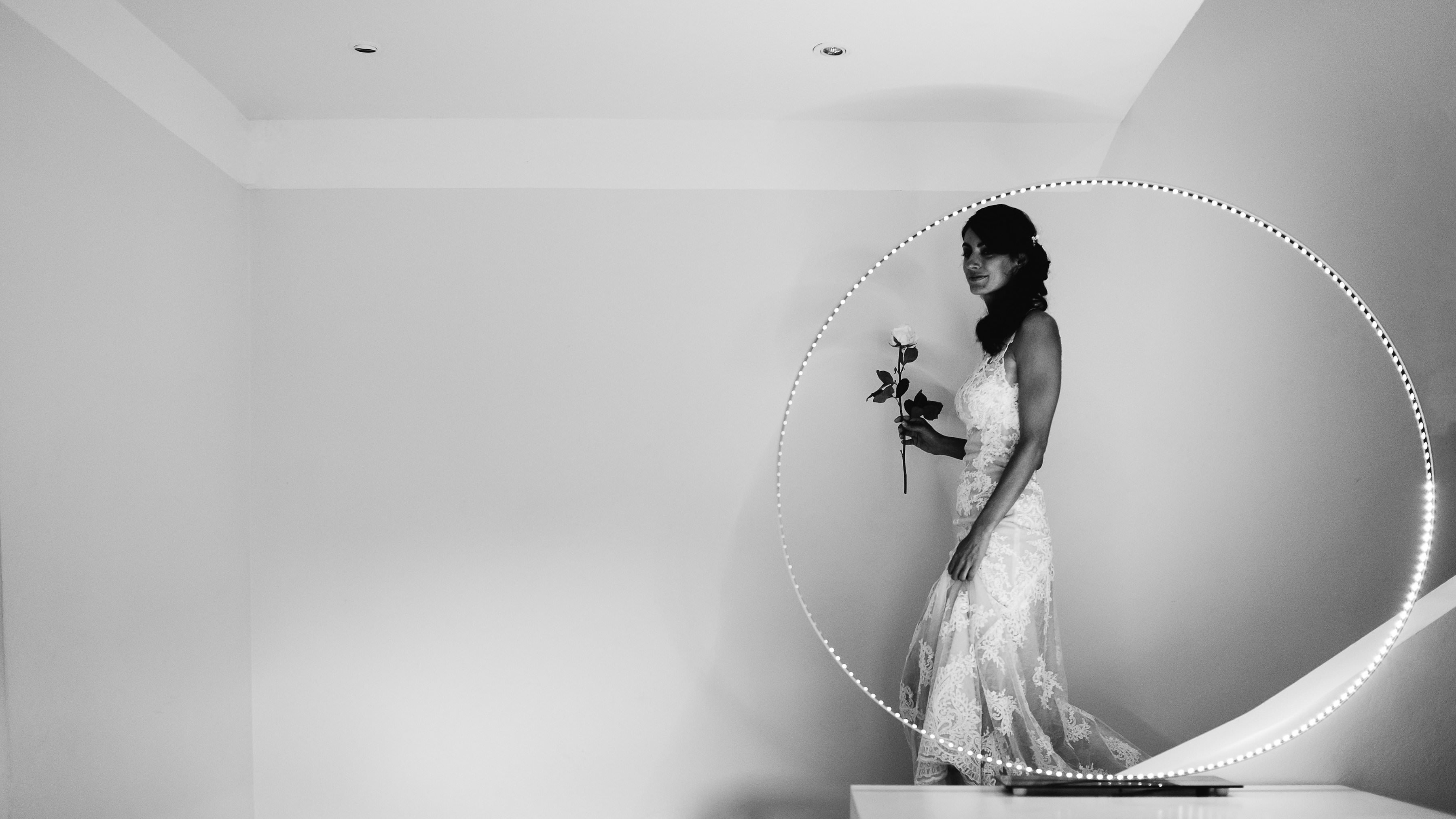 for a destination wedding in South of France with Muriel Saldalamacchia and photos by Garderes & Dohmen