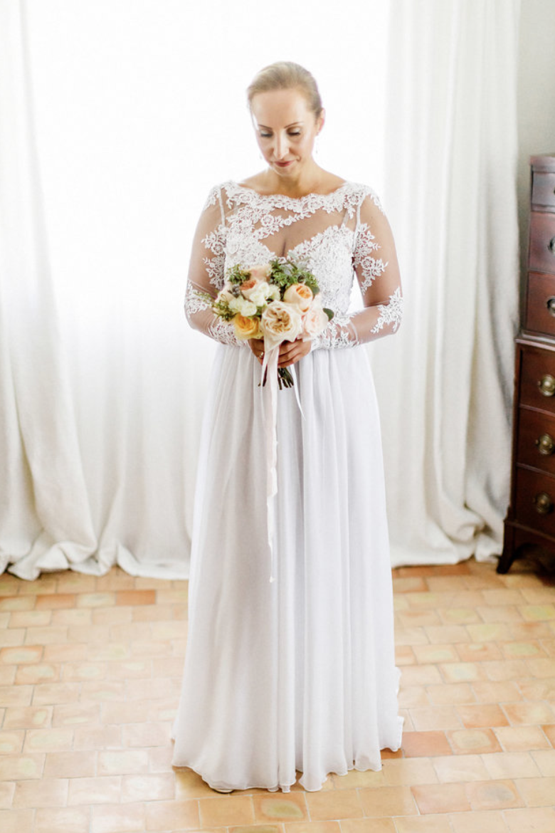 destination wedding in provence (The Bride hersel) by Muriel Saldalamacchia wedding planner Photo by Remi Dupac