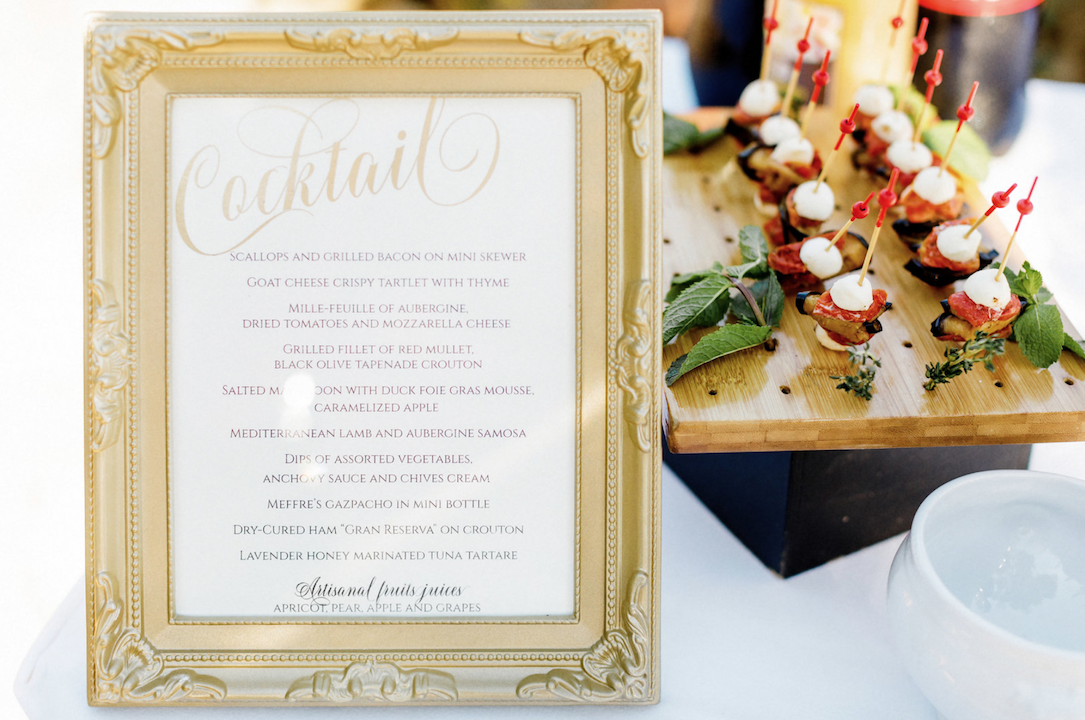 destination wedding in provence (fooding 1) by Muriel Saldalamacchia wedding planner Photo by Remi Dupac