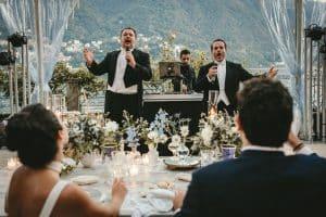 Whimsical wedding on Lake Como at Villa Pizzo by Muriel Saldalamacchia