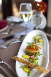 french riviera destination wedding food caviar by Katja Hasselkus