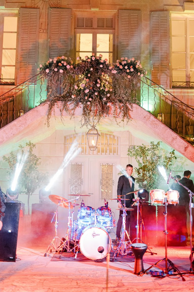 Garden wedding in a chateau Muriel Saldalamacchia