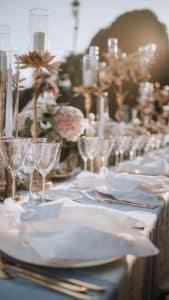 Une belle table